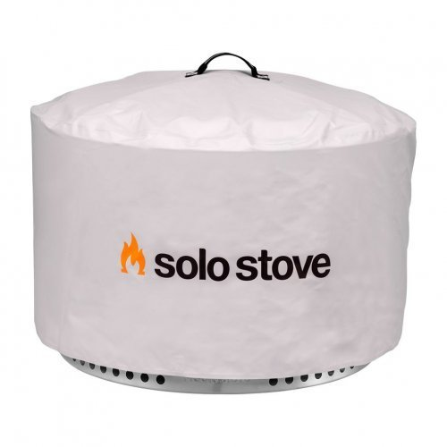Solo Stove Yukon fire pit cover / shelter sold by Gene Lilly Pools and Spas