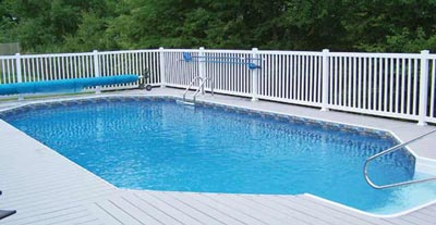 Grecian Radiant Pool sold at Gene Lilly Pools, Spa, and Games